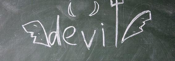 devil sign